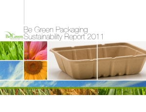 2011 sustainability report be green packaging