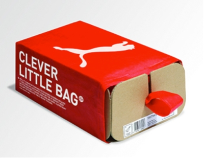 Puma-Clever-Little-Bag-sustainable packaging