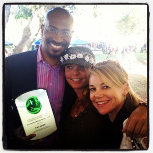 van jones megan havrda earth hero award cec